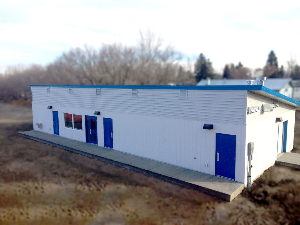 Commercial Building for Davidson Pool House